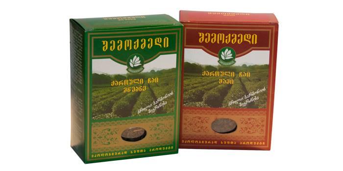 qarTuli chai ქართული ჩაი, მწვანე ჩაი, ჩაი შემოქმედი