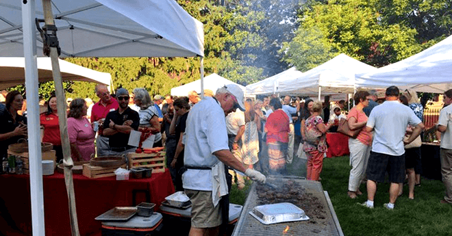 buy local cookout